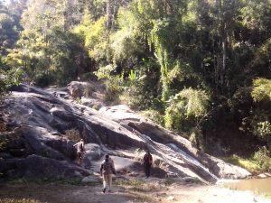 Detalle de las cascadas