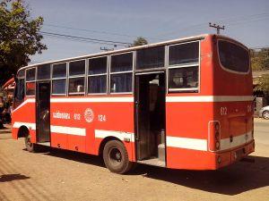 Autobús Pai - Mae Hong Son