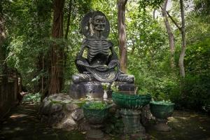 Buda ayunante en Wat U Mong