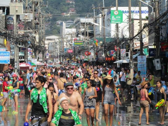 Festival del agua Songkran