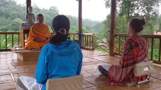 Curso de meditacion en Chiang Mai