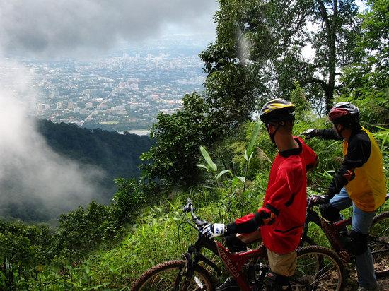 'Mountain biking' en Chiang Mai