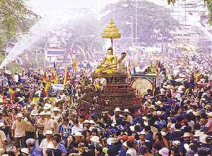 Festival del Agua Songkarn en Chiang Mai
