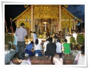 Festival Intakin en Chiang Mai