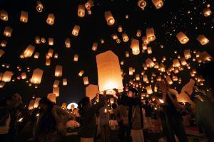 Loi Krathong en Chiang Mai